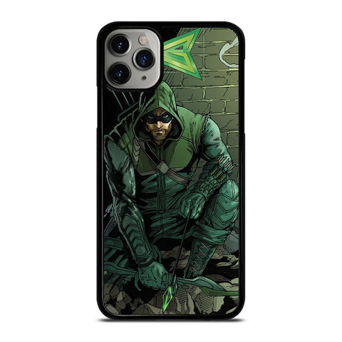 THE GREEN ARROW-iphone-11-pro-max-case-cover