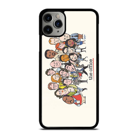 THE OFFICE CARTOON-iphone-11-pro-max-case-cover