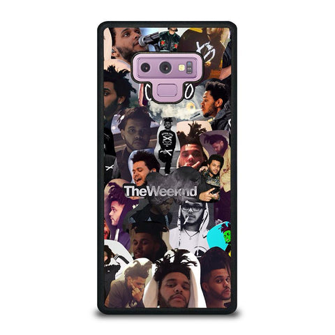 THE WEEKND COLLAGE-samsung-galaxy-note-9-case-cover