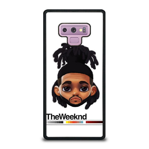 THE WEEKND XO CUTE-samsung-galaxy-note-9-case-cover