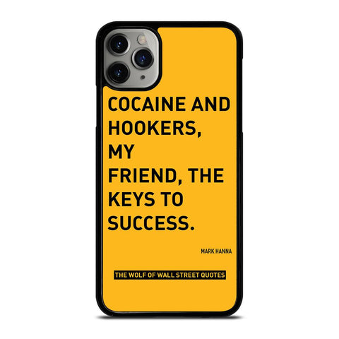 THE WOLF OF WALL STREET QUOTES-iphone-11-pro-max-case-cover