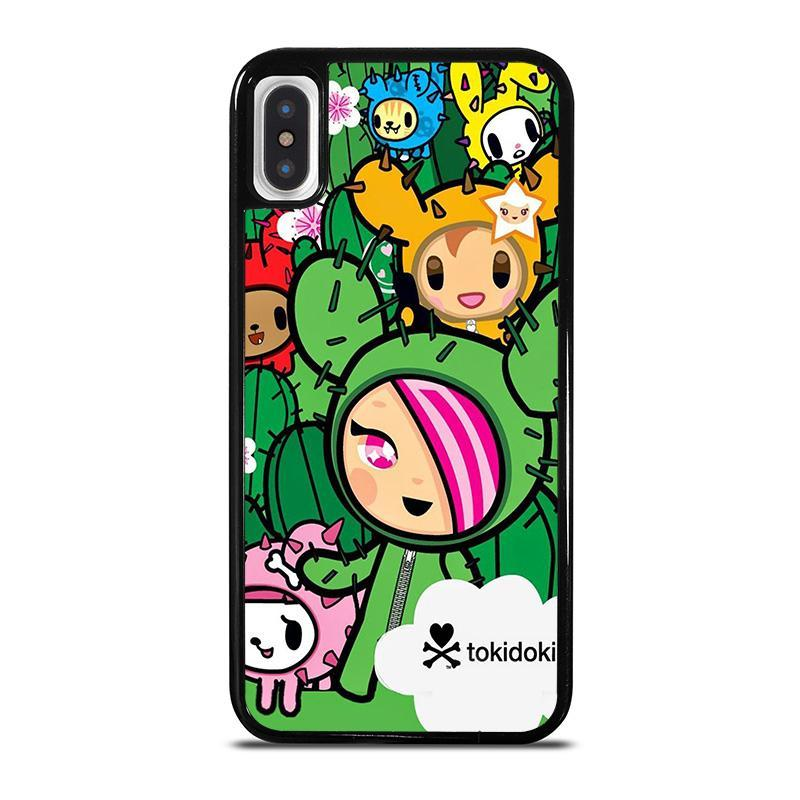TOKIDOKI DONUTELLA CACTUS FRIENDS,-iphone-x-case-cover