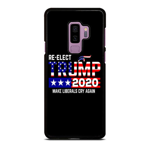 TRUMP 2020 RE ELECT Samsung Galaxy S9 Plus Case Cover