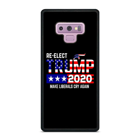 TRUMP 2020 RE ELECT Samsung Galaxy Note 9 Case Cover