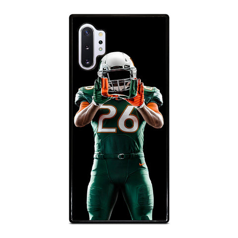UM MIAMI HURRICANES FOOTBALL Samsung Galaxy Note 10 Plus Case Cover