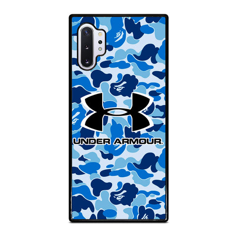 UNDER ARMOUR BLUE CAMO BAPE Samsung Galaxy Note 10 Plus Case Cover