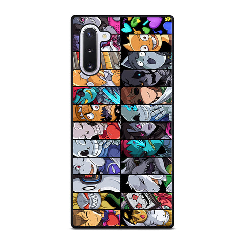 UNDERTALE ALL CHARACTER  Samsung Galaxy Note 10 Case Cover