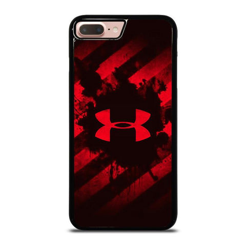 UNDER ARMOUR RED STRIPE LOGO-iphone-8-plus-case-cover