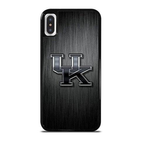 UNIVERSITY OF KENTUCKY LOGO iPhone X / XS Case - Best Custom Phone Cover Cool Personalized Design