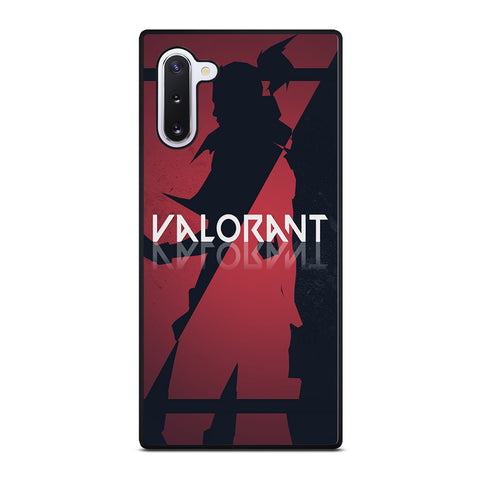 VALORANT GAMES SLICED LOGO Samsung Galaxy Note 10 Case Cover