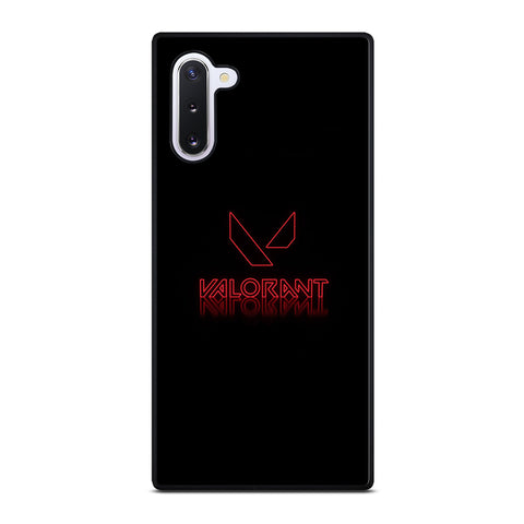 VALORANT GLOWING LOGO Samsung Galaxy Note 10 Case Cover