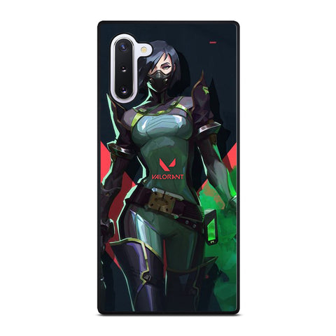 VALORANT RIOT GAMES VIPER 2 Samsung Galaxy Note 10 Case Cover