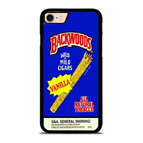 VANILLA BACKWOODS CIGARS-iphone-8-case-cover