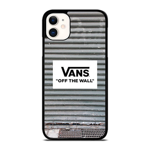 VANS OFF THE WALL IRON STRIPE iPhone 11 Case Cover