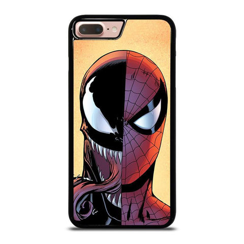 VENOM VS SPIDERMAN FACE-iphone-8-plus-case-cover