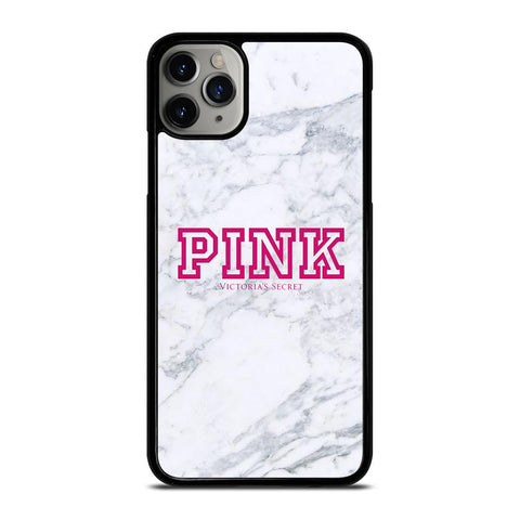 VICTORIA'S SECRET PINK MARBLE-iphone-11-pro-max-case-cover
