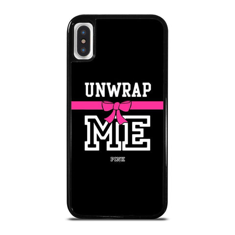 VICTORIA'S SECRET PINK UNWRAP ME-iphone-x-case-cover