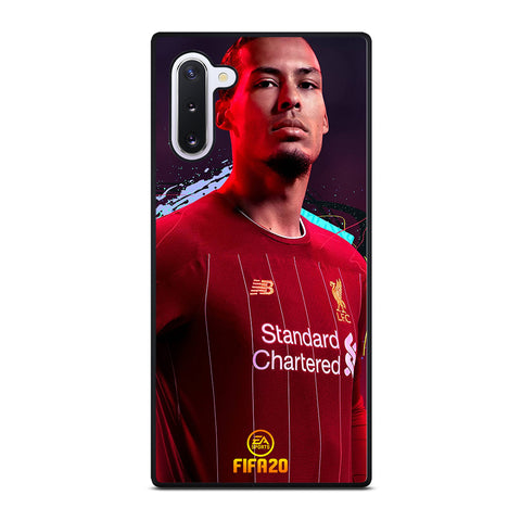 VIRGIL VAN DIJK LIVERPOOL FIFA 2020 Samsung Galaxy Note 10 Case Cover
