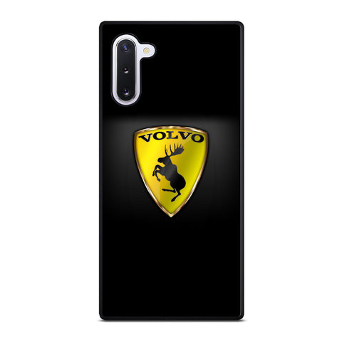 VOLVO CARS LOGO YELLOW Samsung Galaxy Note 10 Case Cover