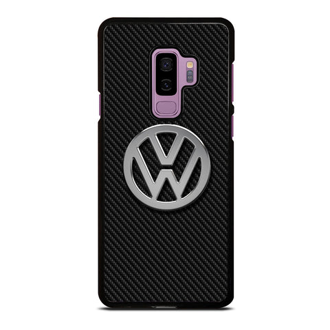 VW VOLKSWAGEN METAL CARBON LOGO Samsung Galaxy S9 Plus Case Cover