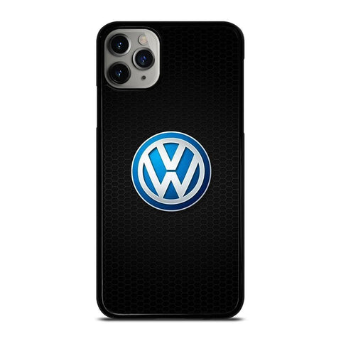 VW VOLKSWAGEN CAR METAL LOGO-iphone-11-pro-max-case-cover