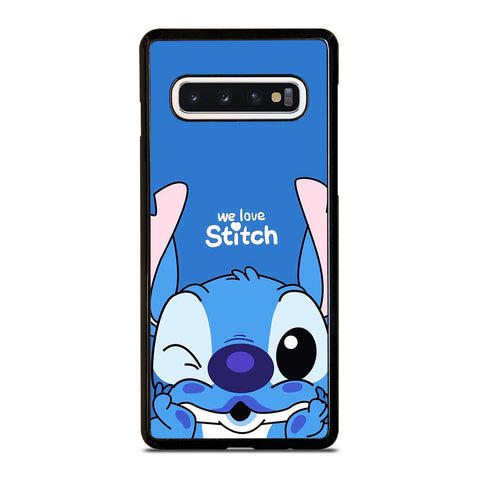 WE LOVE STITCH AND LILO CARTOON Samsung Galaxy S10 Case Cover