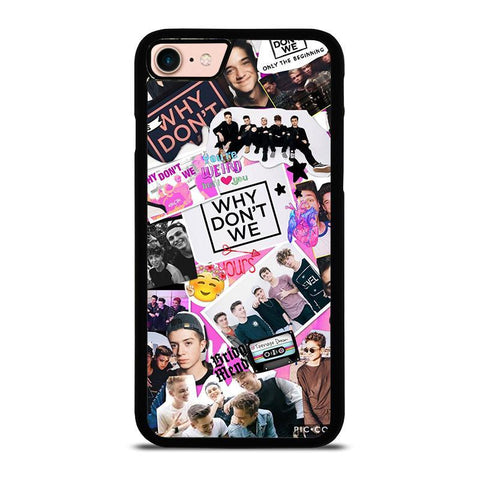 WHY DON'T WE COLLAGE-iphone-8-case-cover