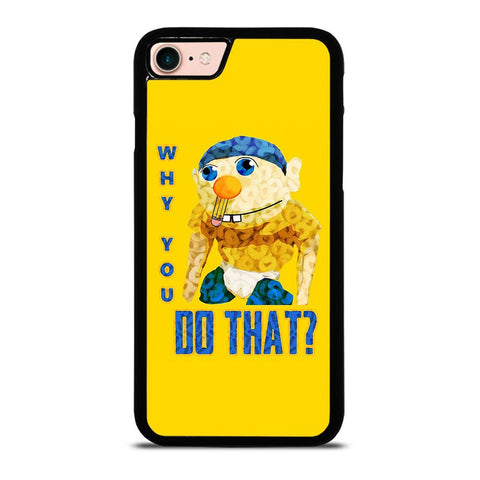 WHY YOU DO THAT SML JEFFY-iphone-8-case-cover