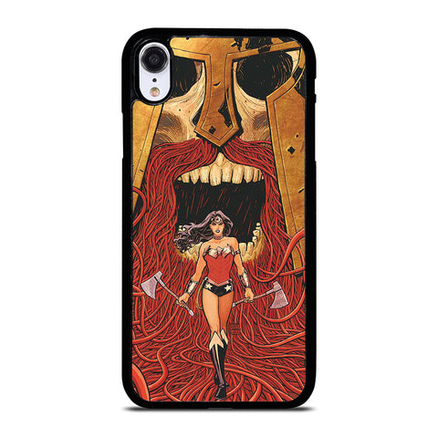 WONDER WOMAN CARTOON iPhone XR Case Cover