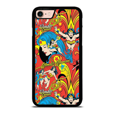 WONDER WOMAN COLLAGE 2-iphone-8-case-cover