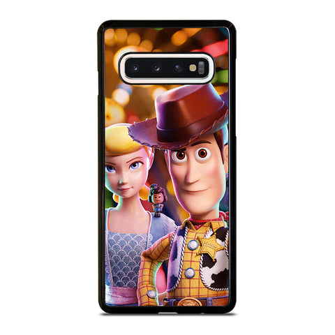 WOODY BO PEEP TOY STORY 4 DISNEY Samsung Galaxy S10 Case Cover