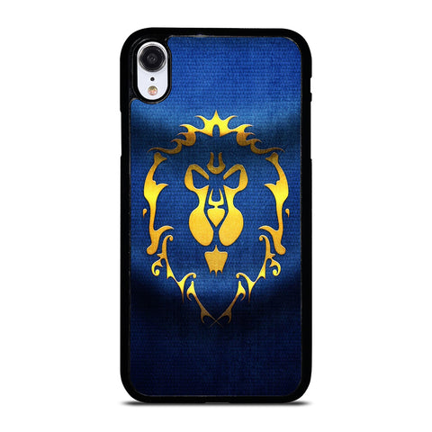 WORLD OF WARCRAFT ALLIANCE WOW FLAGE iPhone XR Case Cover