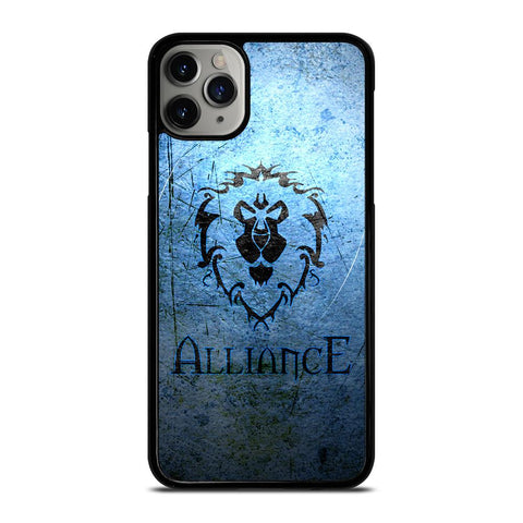 WORLD OF WARCRAFT ALLIANCE WOW-iphone-11-pro-max-case-cover