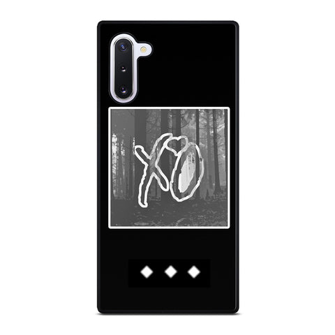 XO LOGO THE WEEKND Samsung Galaxy Note 10 Case Cover