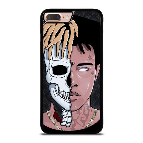 XXXTENTACION SKUL FACE-iphone-8-plus-case-cover