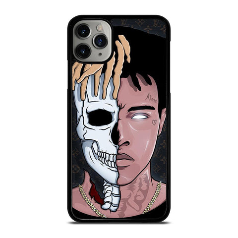 XXXTENTACION SKUL FACE-iphone-11-pro-max-case-cover