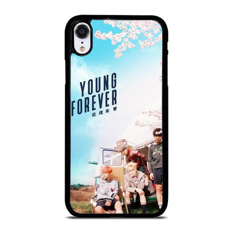 YOUNG FOREVER BANGTAN BOYS iPhone XR Case Cover
