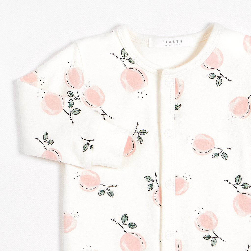 Pyjama en Cotton biologique Firsts-Chelsea market roses