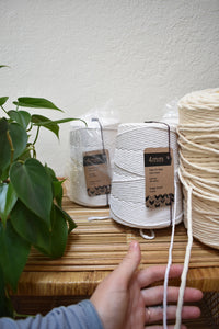 Natural White Cotton Spools