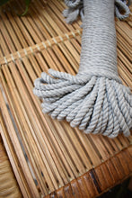 Load image into Gallery viewer, Grey 5mm Cotton Rope