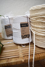 Load image into Gallery viewer, Natural White Cotton Spools