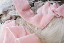 Load image into Gallery viewer, Silk Velvet: Blush Pink