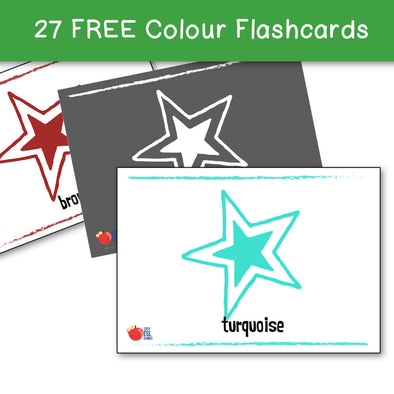 Color Flashcards (27 Flashcards)
