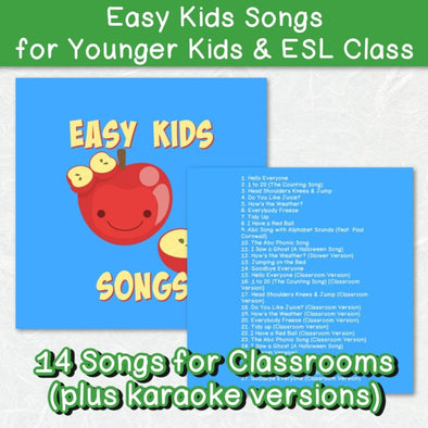 Easy Kids Songs for Preschool and ESL - Easy ESL Shop