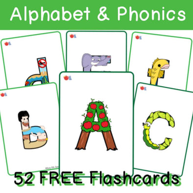 LEEP - Learn Easy English Phonics Flashcards (52 Flash Cards - Free) - Easy ESL Shop