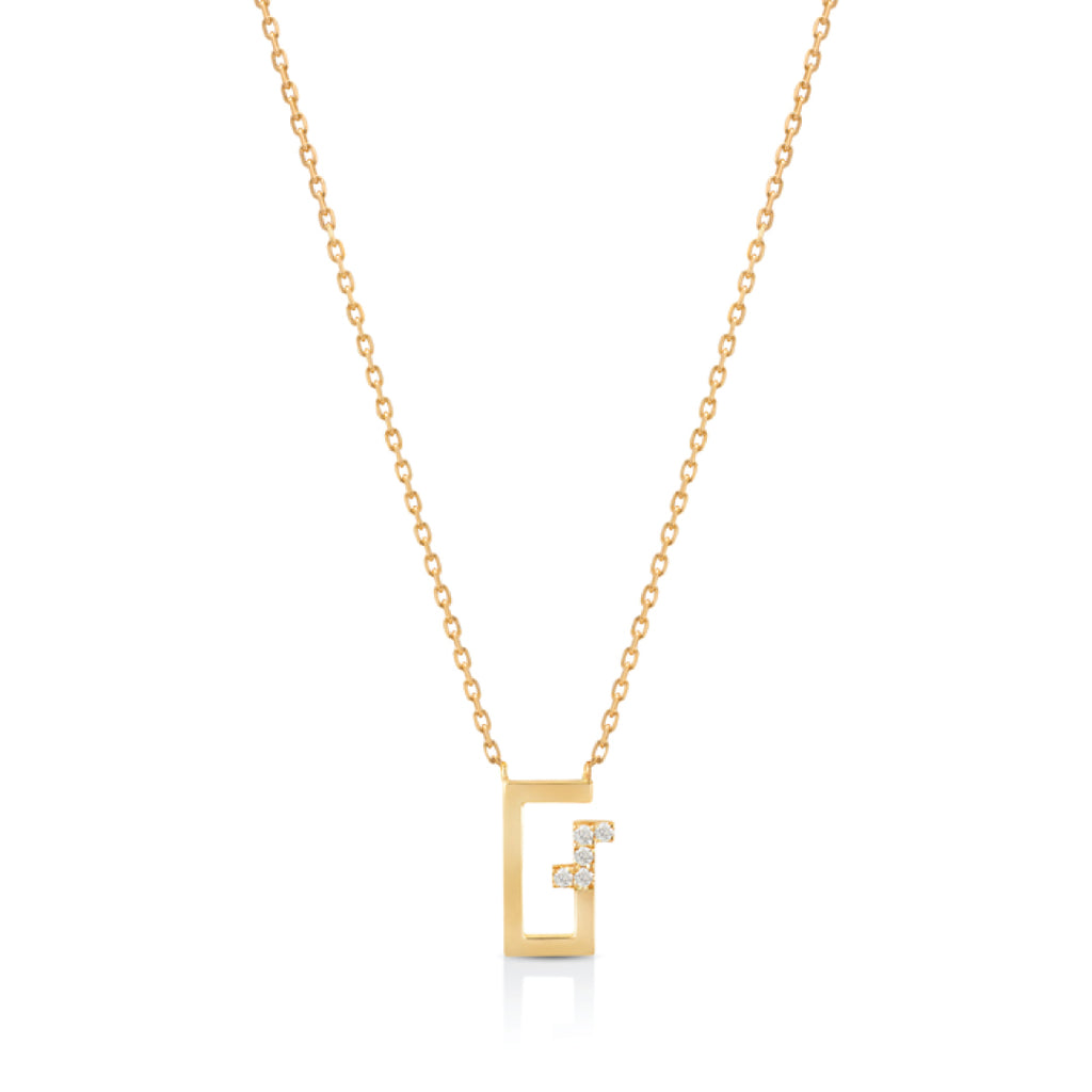 Arabic Alphabet Letter Necklace (أ)