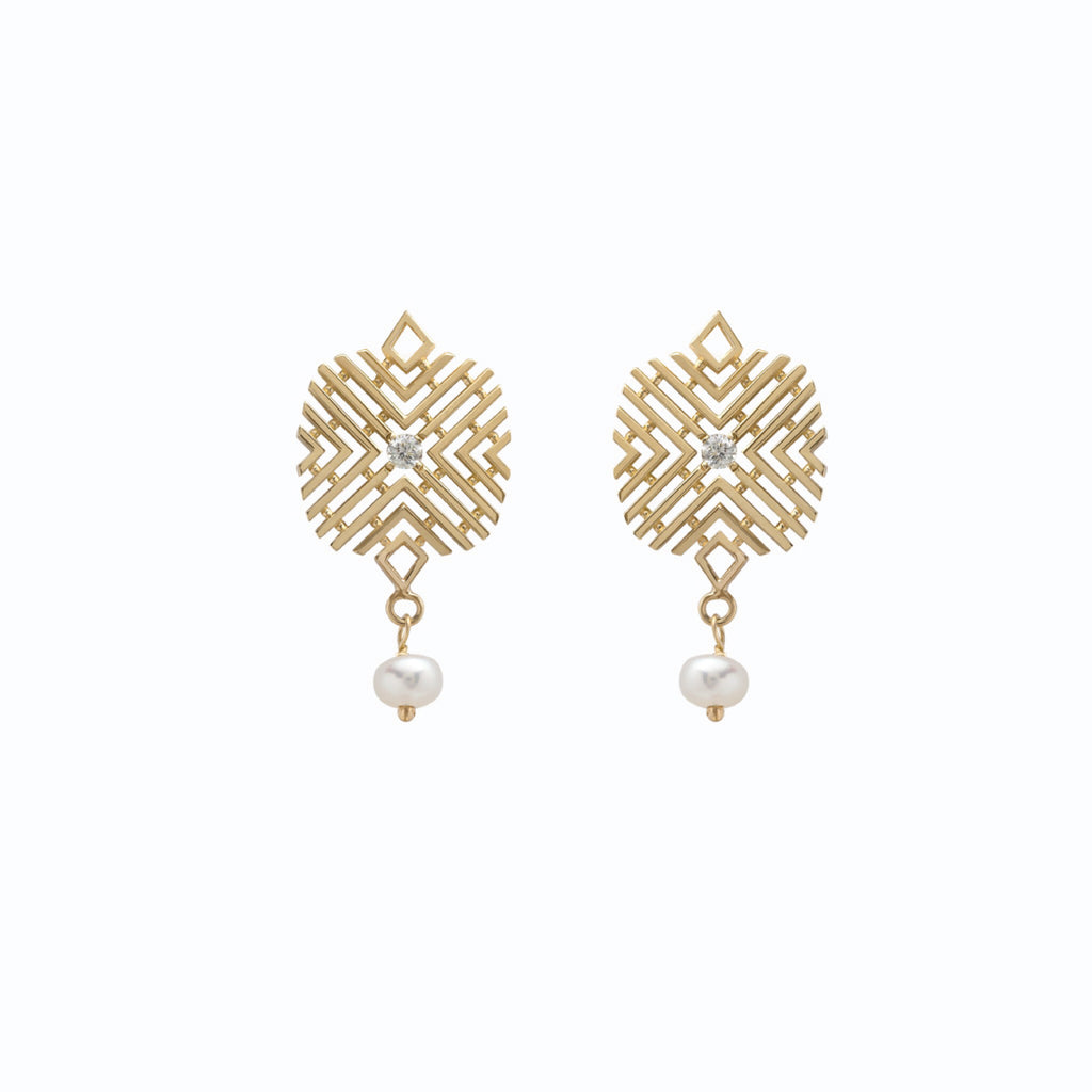 Passion Earring with Pearl
