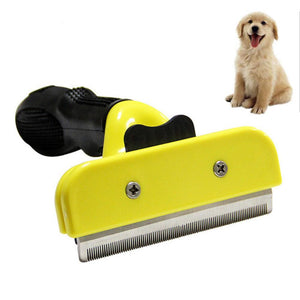 Stainless Steel Pet Dog Fur Cleaning Comb - The Dog House