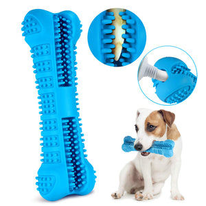 Dog Toothbrush Chew Bone Toy - The Dog House