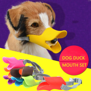 Duck Mouth Shape Anti-bite Dog Mouth Cover - The Dog House